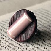 A14.14 - anello rosa antico - Linea Retro
