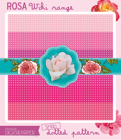 Digital Paper A4 ROSA1 wiki range – small dotted