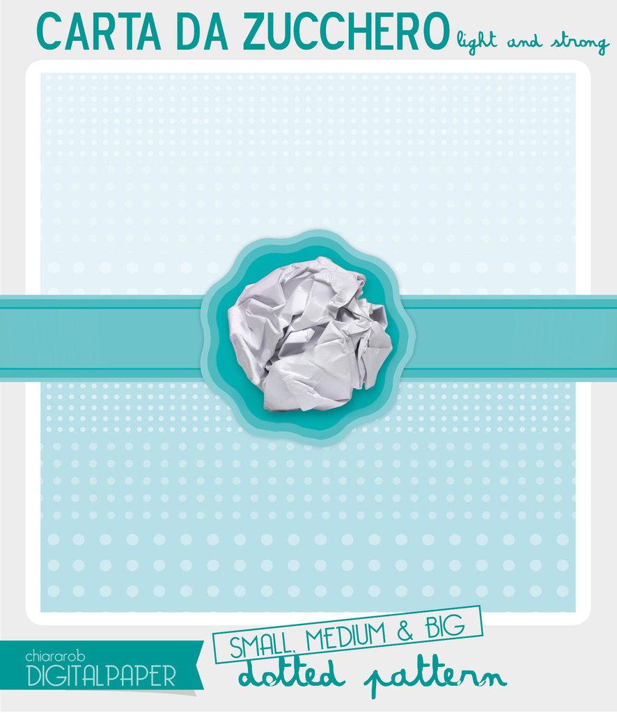DIGITAL PAPER A4 Carta da zucchero - dotted