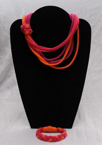 Collana e bracciale Oranrose