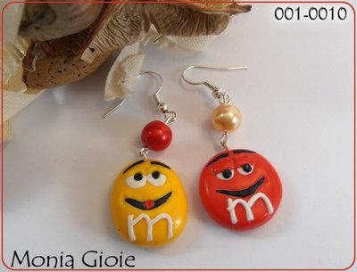 Orecchini M&M'S