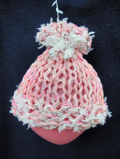 """cappellino per neonato """"tulle"""""""