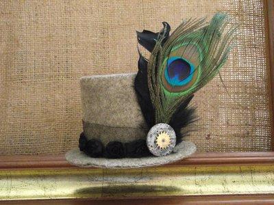 cappellino vittoriano steampunk