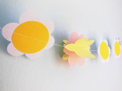 Ghirlanda decorativa 'Fiori': la decorazione per la festa di compleanno della tua fatina!