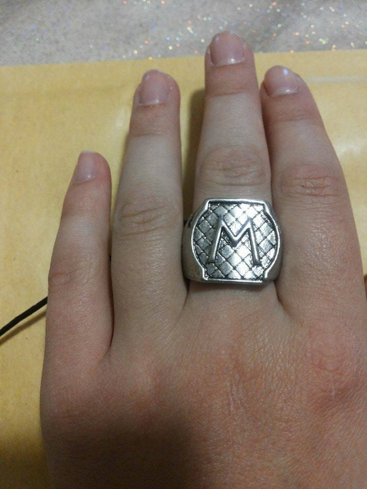 Anello Jace Morgenstern Wayland Shadowhunters Argento