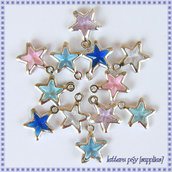 12 Stelline Charms (mix color)