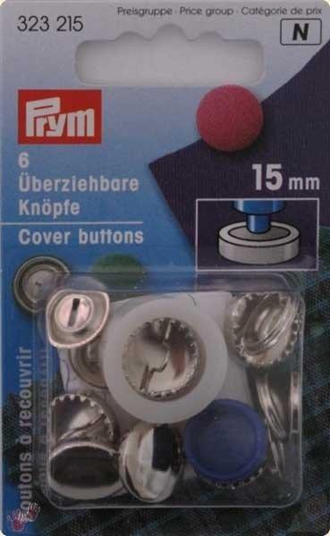 Anime bottoni da ricoprire + attrezzo 15 mm