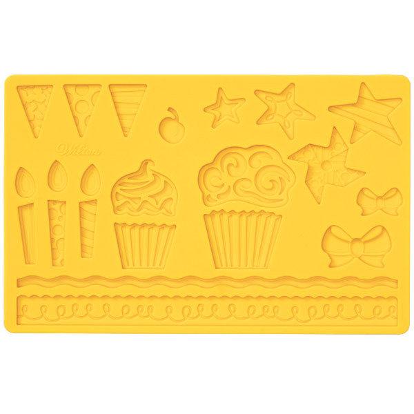 Stampo Muffin in silicone per pasta di zucchero