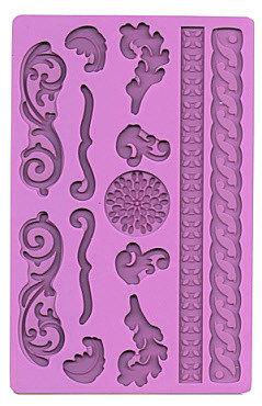 Stampo in Silicone per decorazioni con pasta di zucchero