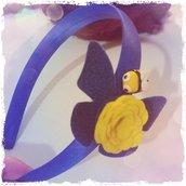 Cerchietto blu