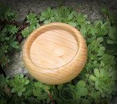 centro tavola in legno