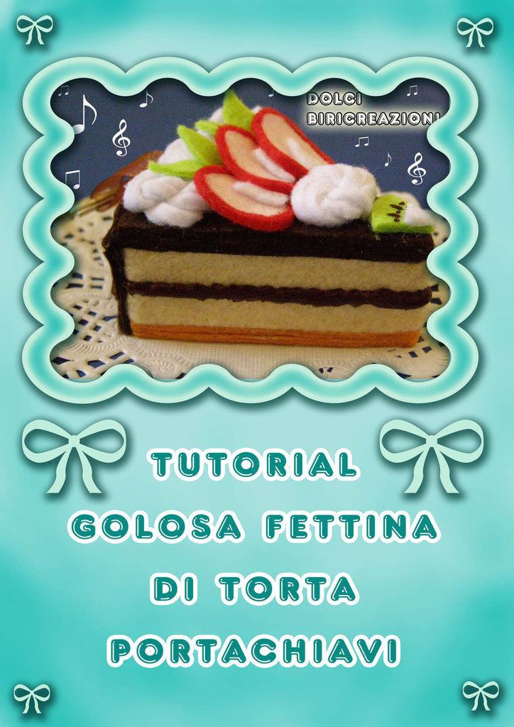 Tutorial fettina di torta di pannolenci