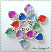 12 Cuori Charms (mix color)