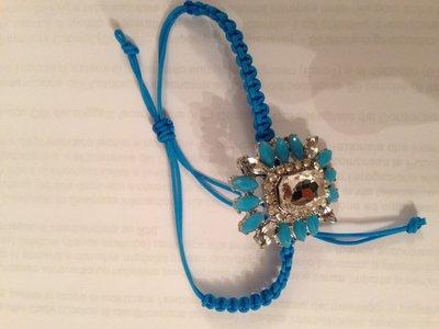 Bracciale shourrouk inspired colore turchese