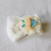 Bomboniera con miniatura a tema marino in feltro: per sirene e sirenette!