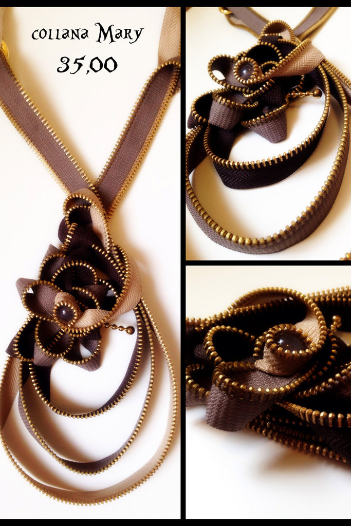 collana Mary in cerniera