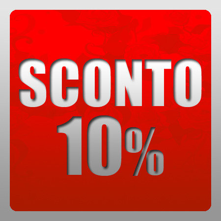 Buono sconto GRATIS del 10%  - Occasione - Offerta - Promozione - Idea regalo