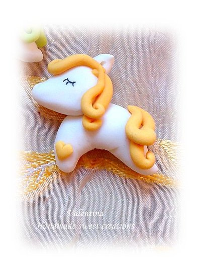 Calamita cavallino-pony bomboniera battesimo comunione