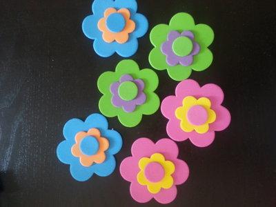 Decorazioni fustellate per creazioni o scrapbooking fiori