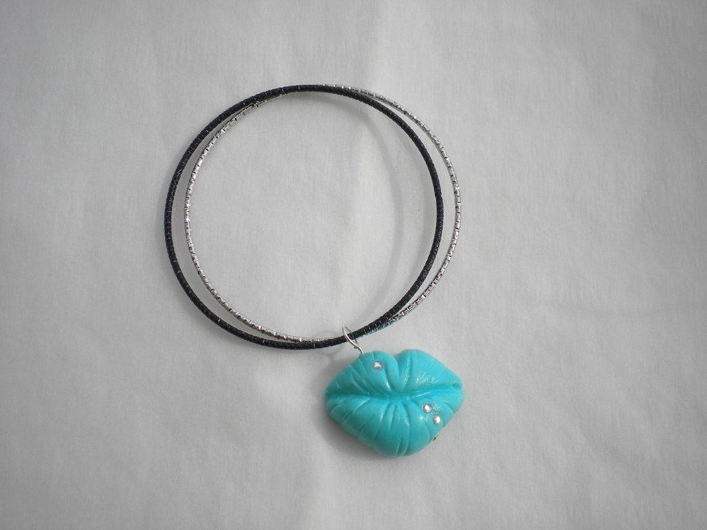 Bracciale rigido bocca Tiffany