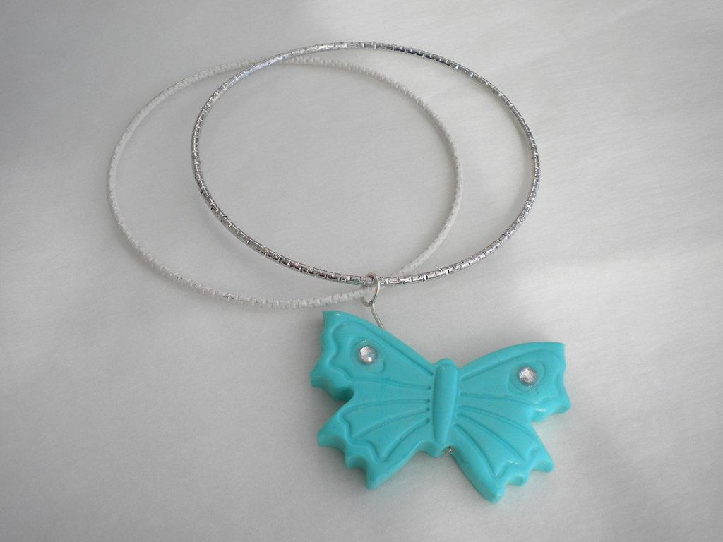 Bracciale rigido farfalla Tiffany