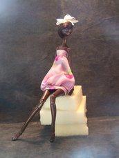 Bambola artistica Wanjiko  da collezione