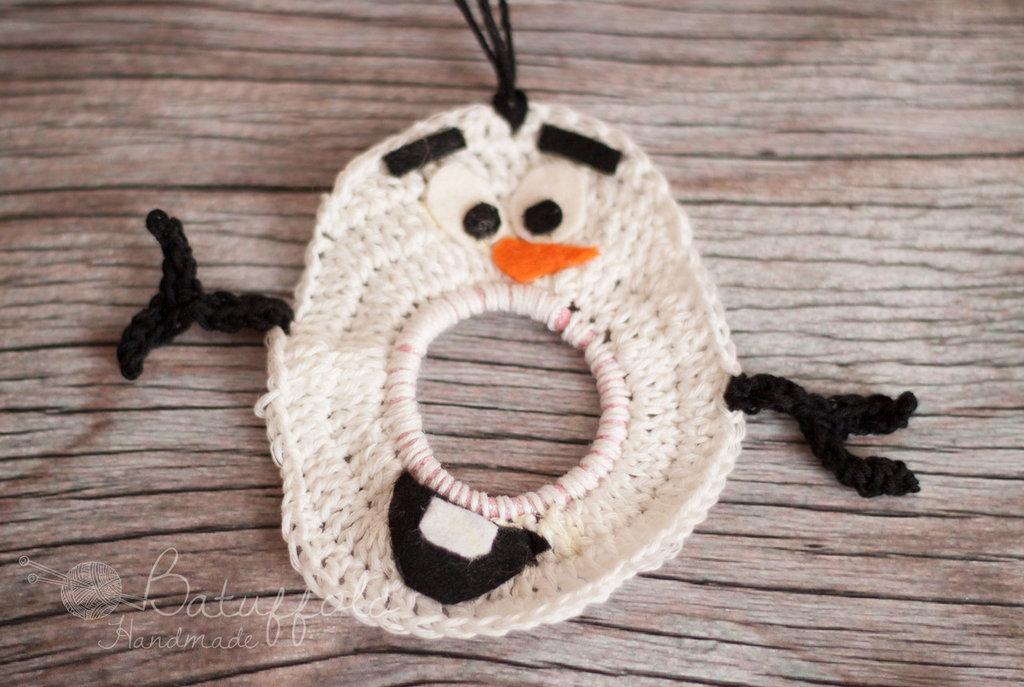 Diverti-Lenti / Lens Buddy -Pupazzo di Neve Olaf