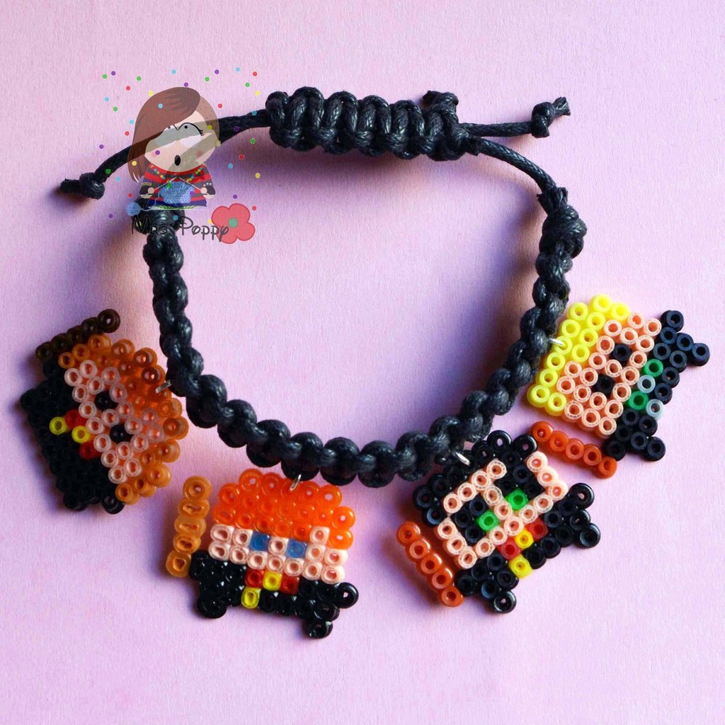 "Bracciale mini hama beads ""Harry Potter"""
