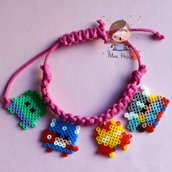 "bracciale mini hama beads ""The avengers"""