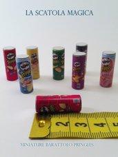 Miniatura tubo patatine pringles