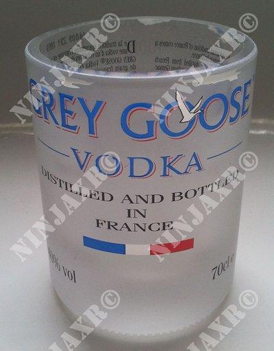 Bicchieri da Bottiglia Vodka Grey Goose Old Fashion