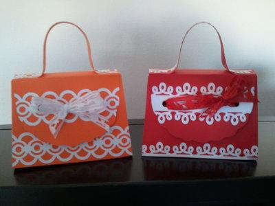 2 borsettine di carta