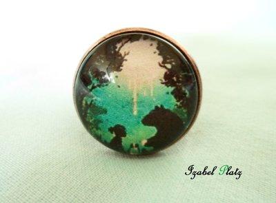 anello foresta incantata
