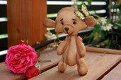 Art doll, teddy bear  Mishutka, bambola aromatica