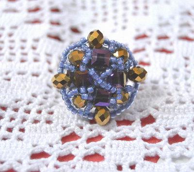 """anello """"Eleonora"""" 25 mm."""