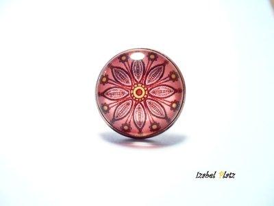 anello fiore mandala