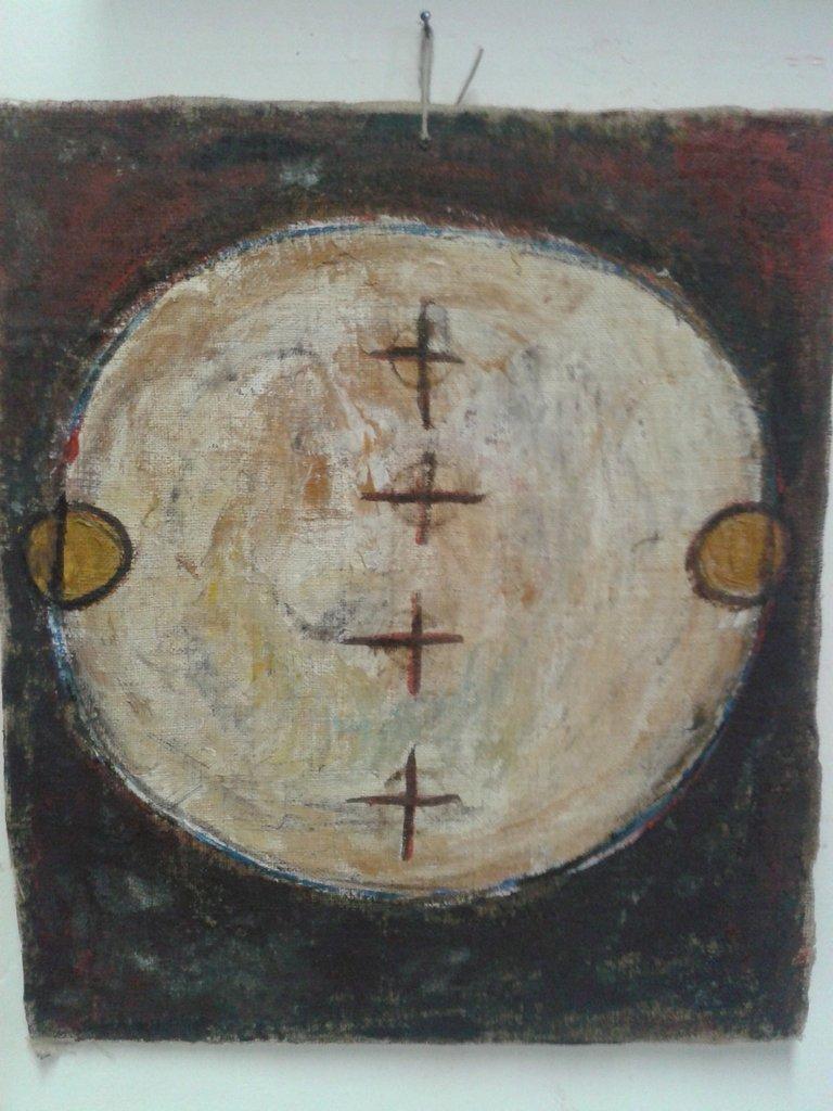 dipinto su tela