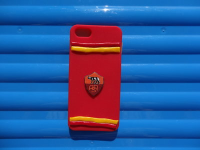 Cover Iphone 5G della Roma decorata in fimo