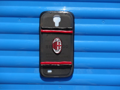 Cover Samsung S4 del Milan decorata in fimo