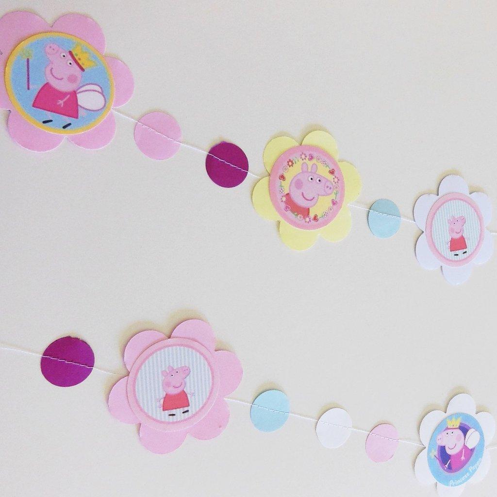 Festone per decorare la festa di compleanno della vostra piccola principessa delle fate!