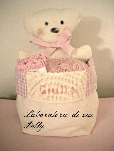 Idea regalo per neonata/o