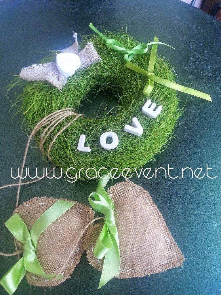 Porta Fedi per Matrimonio Eco-Chic!