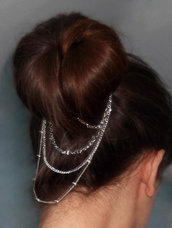 Headband jewel CHIGNON accessorio capelli