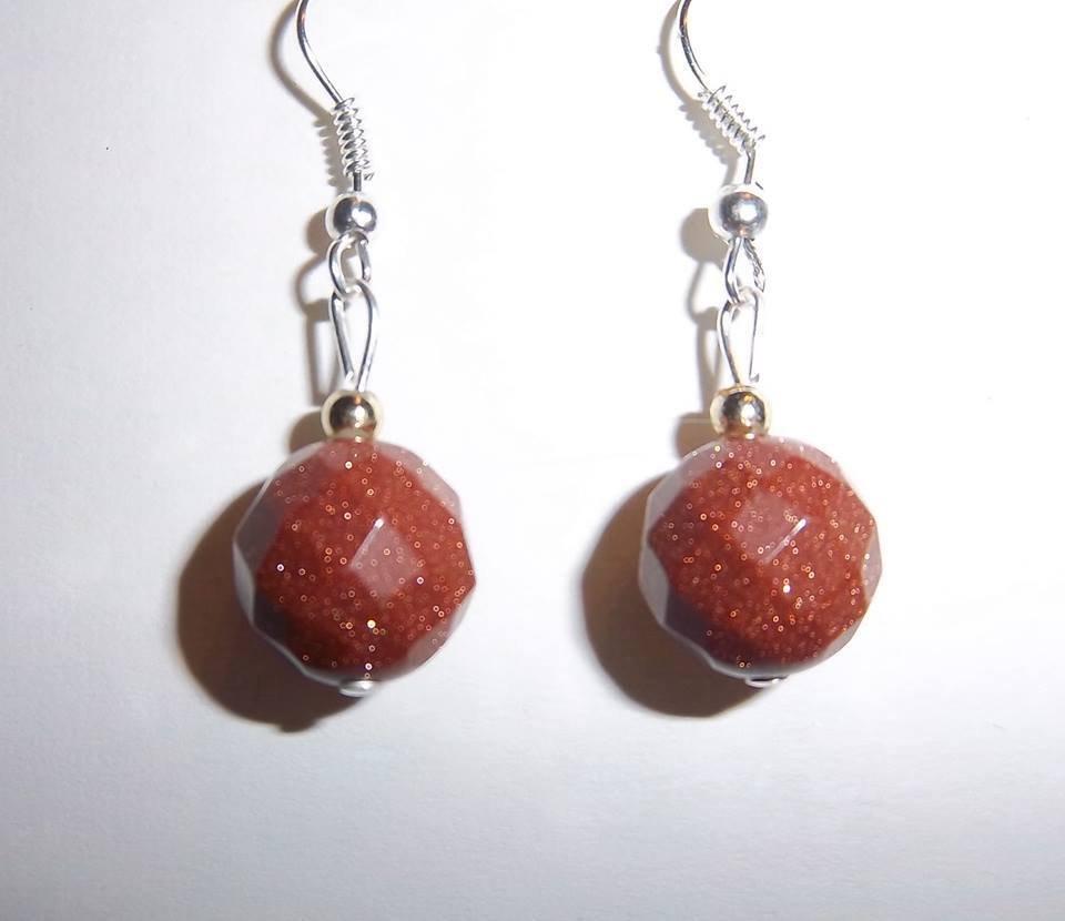 orecchini pietra del sole - Gioielli - Orecchini - di Daely | su ...
