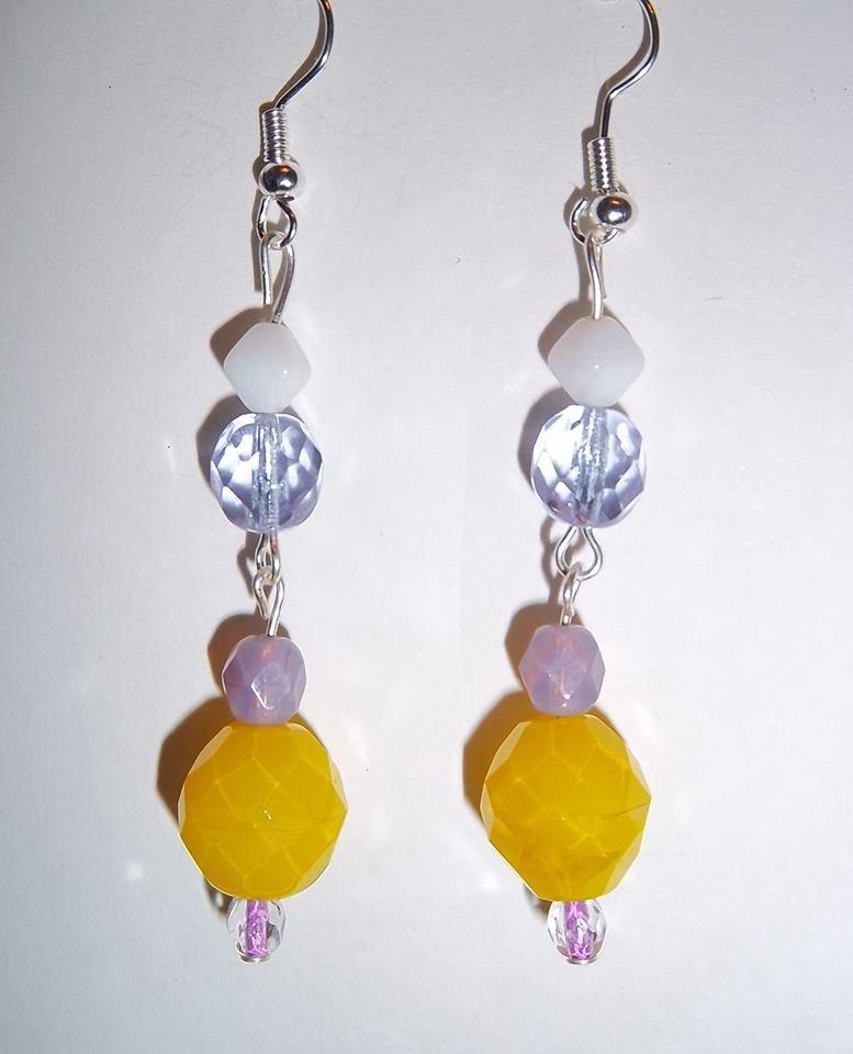 orecchini gialli