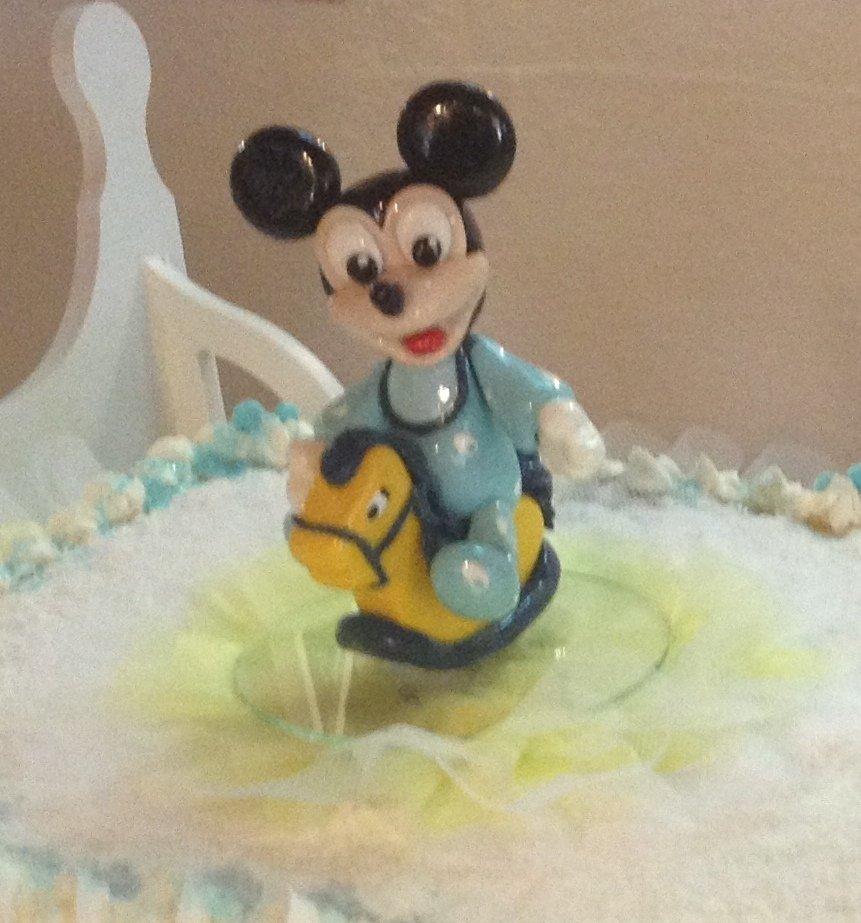 Baby Topolino cake topper