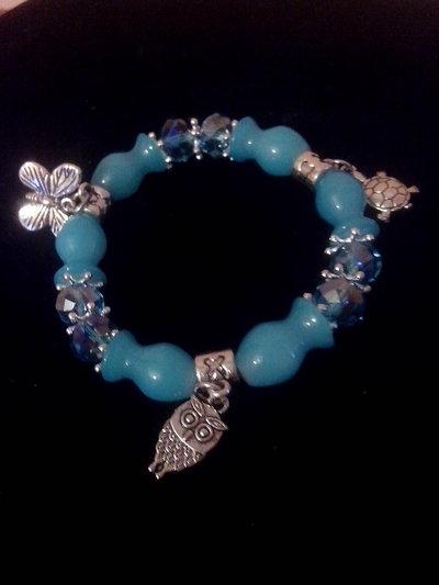 bracciale in perle