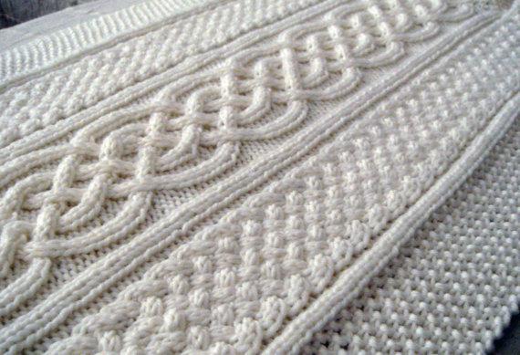 Copertina celtica - pattern maglia