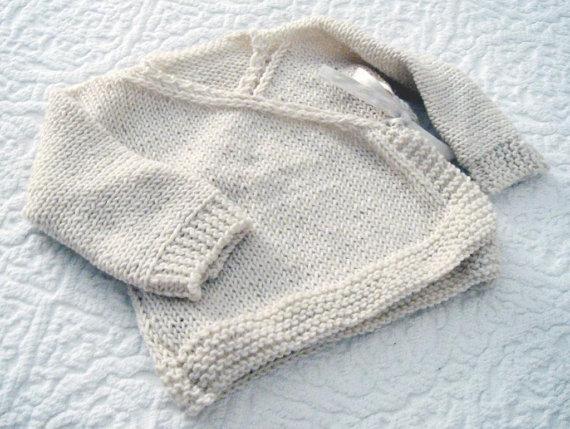 Maglioncino kimono - pattern a maglia