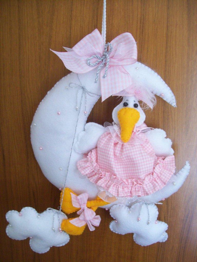 Amato Fiocco nascita bimba - Bambini - Nascita - di Minù | su MissHobby ZU21